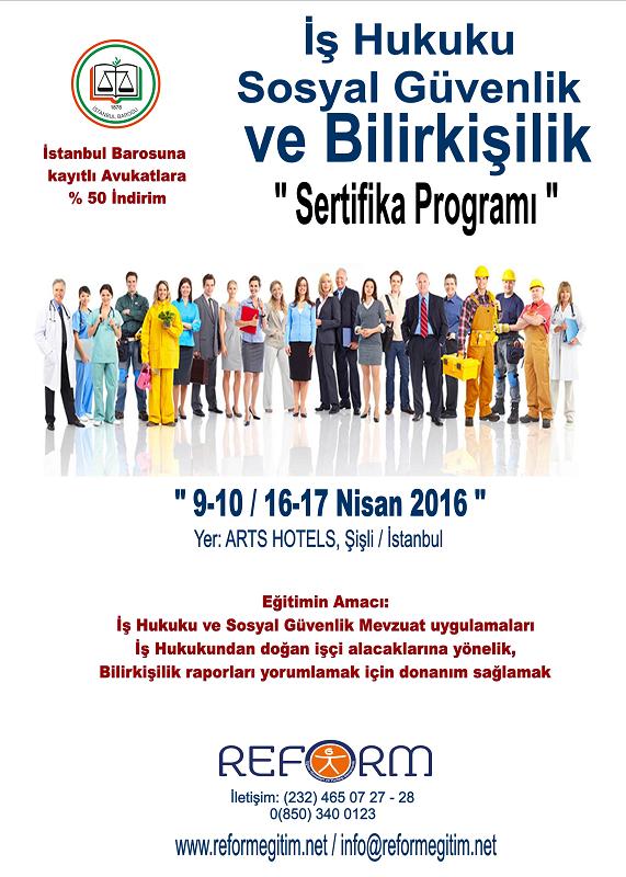 İstanbul Barosu, İş Hukuku